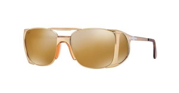 Persol PO2435S 1054W4 BROWN MIRROR GOLDOLD GOLD
