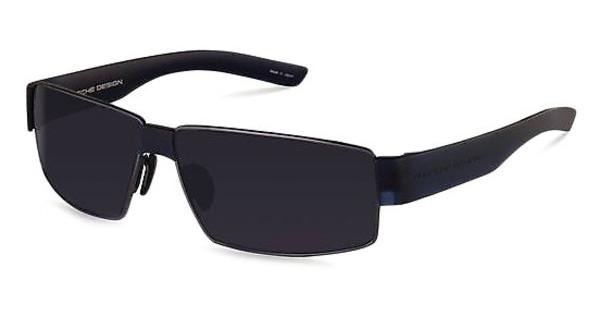 Porsche Design P8529 C grey bluedark gun, dark blue transparent mat