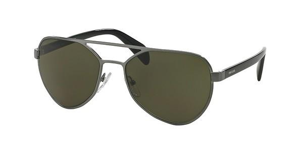Prada PR 55RS 75S4J1 DARK GREENBRUSHED GUNMETAL