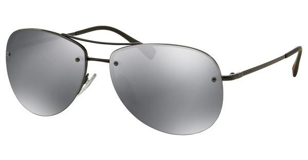 Prada Sport PS 50RS 7AX5L0 LIGHT GREY MIRROR BLACKBLACK