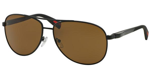 Prada Sport PS 51OS DG05Y1 POLAR BROWNBLACK RUBBER