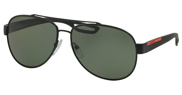 Prada Sport PS 55QS DG05X1 POLAR GREENBLACK RUBBER