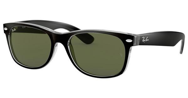 Ray-Ban RB2132 6052 GREENTOP BLACK ON TRANSPARENT