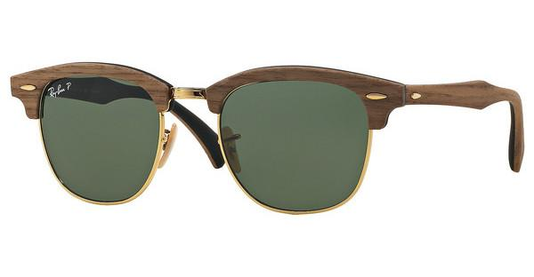 Ray-Ban RB3016M 118158 POLAR GREENWALNUT RUBBER BLACK