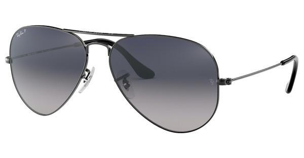 Ray-Ban RB3025 004/78 CRYSTAL POLAR BLUE GRAD.GREYGUNMETAL