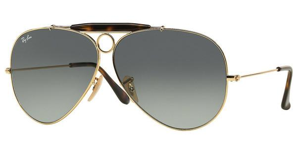 Ray-Ban RB3138 181/71 LIGHT GREY GRADIENT DARK GREYGOLD