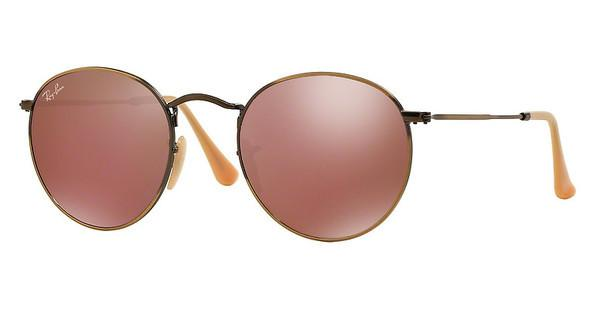 Ray-Ban RB3447 167/2K RED MIRRORDEMIGLOS BRUSCHED BRONZE