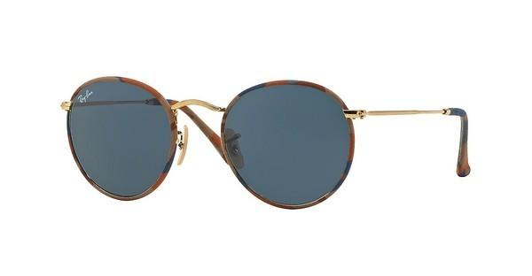 Ray-Ban RB3447JM 170/R5 GREYCAMOUFLAGE BROWN/BLUE