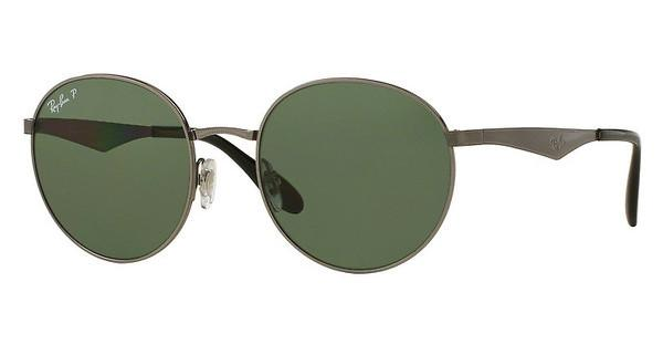 Ray-Ban RB3537 004/9A DARK POLAR GREENSHINY GUNMETAL