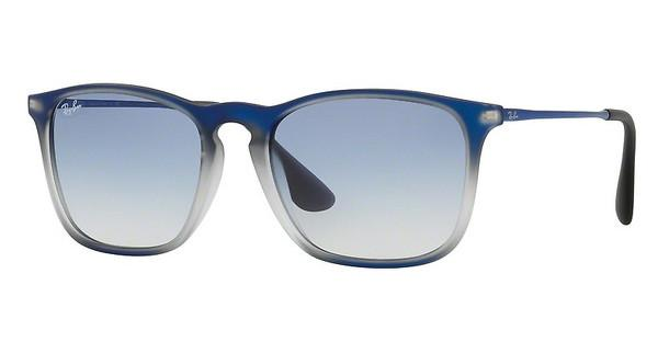 Ray-Ban   RB4187 622519 CLEAR GRADIENT LIGHT BLUEBLUE SHOT ON BLACK