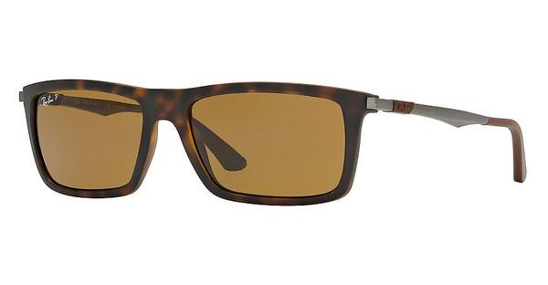 Ray-Ban RB4214 609283 POLAR BROWNMATTE HAVANA