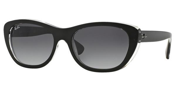 Ray-Ban RB4227 60528G GREY GRADIENT DARK GREYTOP MAT BLACK ON TRANSPARENT