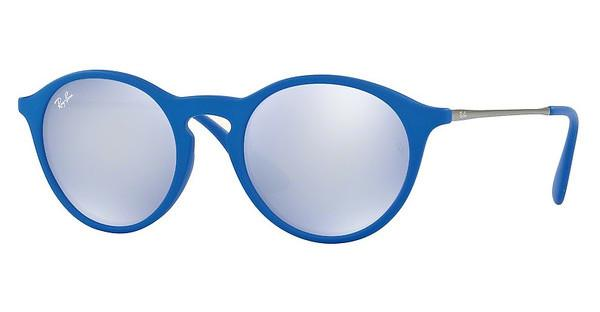 Ray-Ban RB4243 62631U BLUE LIGHT FLASH GREYRUBBER BLUE