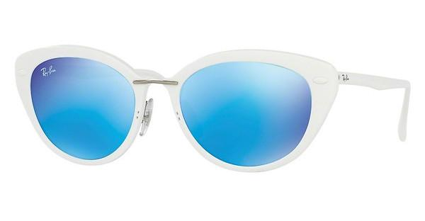 Ray-Ban RB4250 671/55 GREEN MIRROR BLUESHINY WHITE