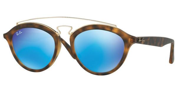 Ray-Ban RB4257 609255 LIGHT GREEN MIRROR BLUEMATTE HAVANA