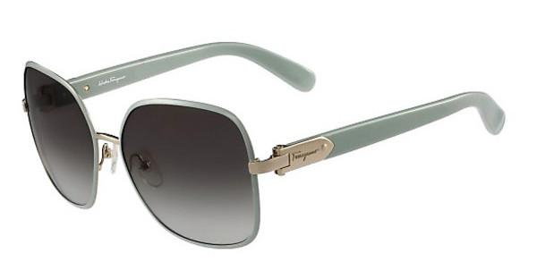 Salvatore Ferragamo SF150S 715 LIGHT GOLD/AZURE