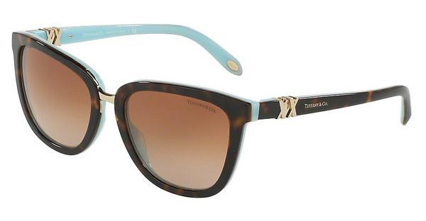 Tiffany TF4123 81343B BROWN GRADIENTHAVANA/BLUE