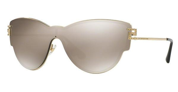 Versace VE2172B 12525A LIGHT BROWN MIRROR GOLDPALE GOLD