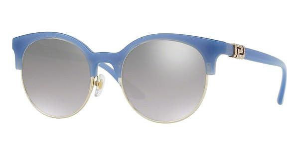 Versace VE4326B 52276V LIGHT GREY MIRROR GRAD SILVEROPAL AZURE/PALE GOLD