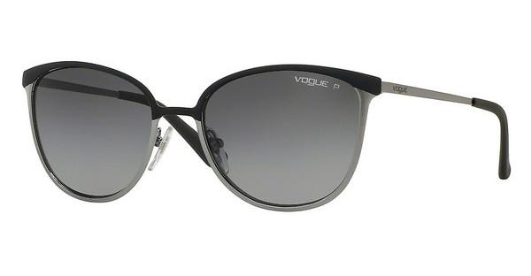 Vogue   VO4002S 995ST3 POLAR GREY GRADIENTMT GREY/BRUSHED GUNMETAL