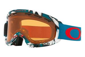 Oakley OO7048 704808 PERSIMMONSHADY TREES BLUE RED