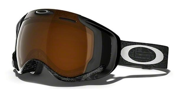 Oakley OO7049 59-448 BLACK IRIDIUMSILVER FACTORY TEXT
