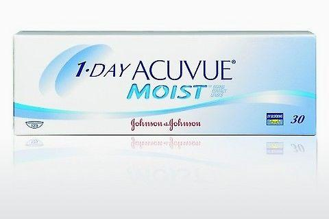 Lentilles de contact Johnson & Johnson 1 DAY ACUVUE MOIST 1DM-30P-REV