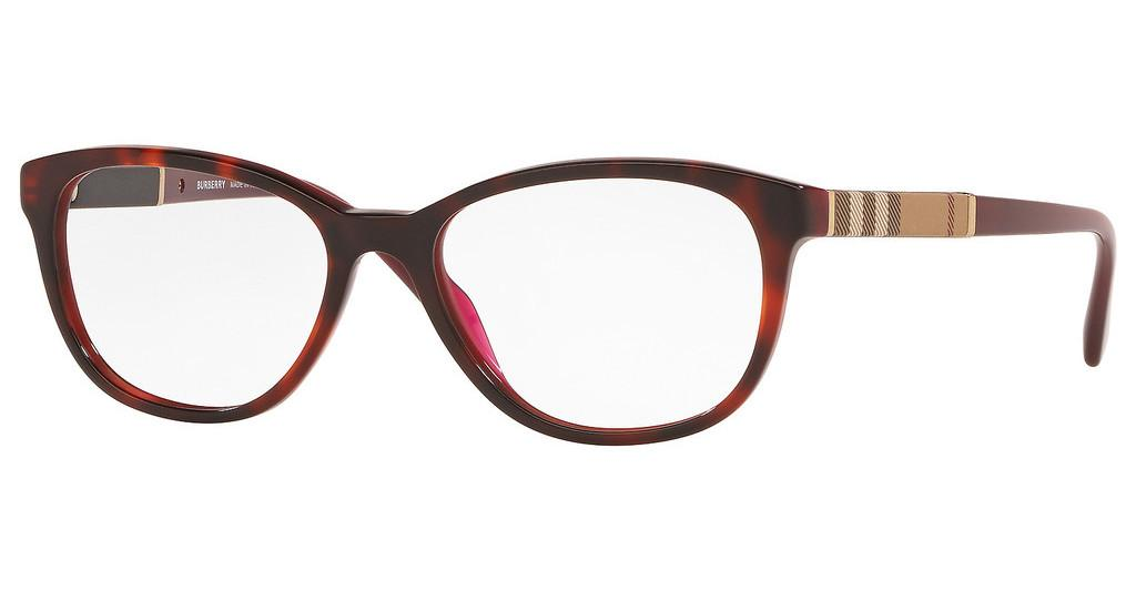 Burberry   BE2172 3657 TOP HAVANA ON BORDEAUX