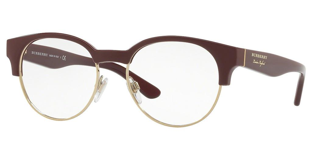 Burberry   BE2261 3687 BORDEAUX/LIGHT GOLD