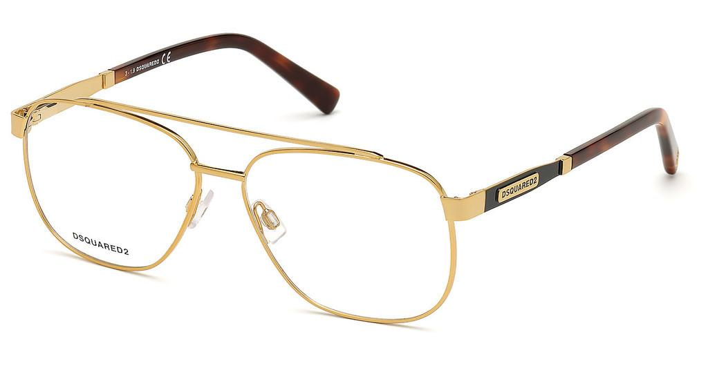 Dsquared   DQ5309 030 tiefes gold glanz