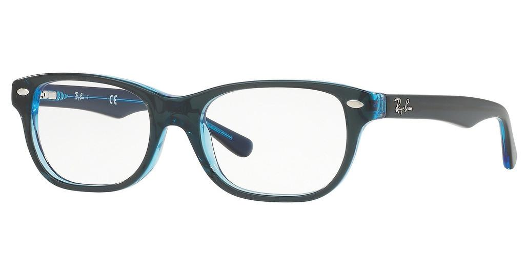 Ray-Ban Junior   RY1555 3667 BLUE ON BLUE FLUO