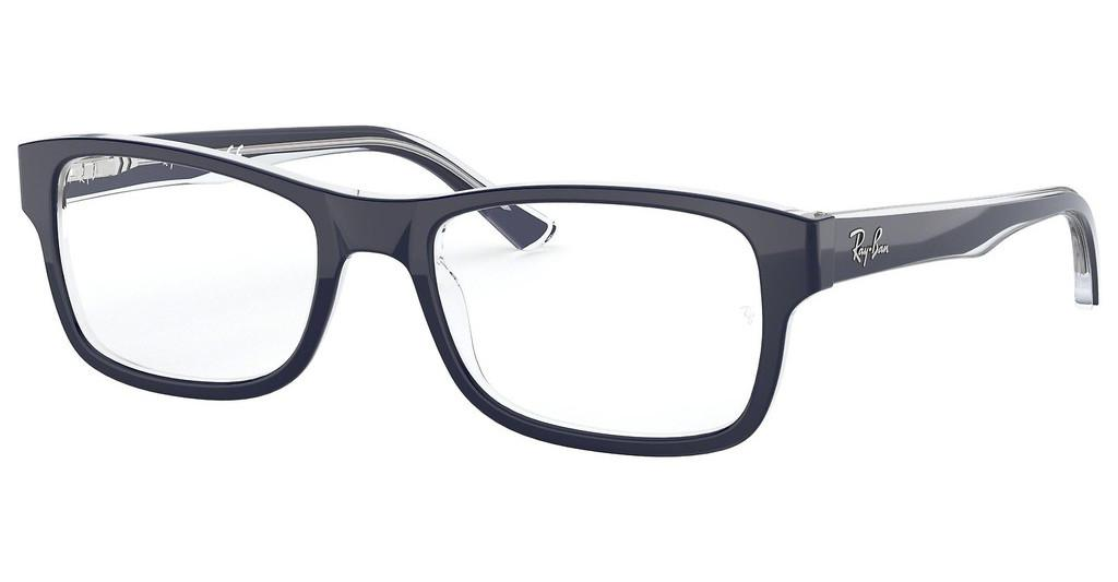 Ray-Ban   RX5268 5739 TOP BLUE ON TRASPARENT