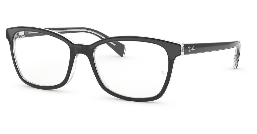 Ray-Ban   RX5362 2034 TOP BLACK ON TRANSPARENT