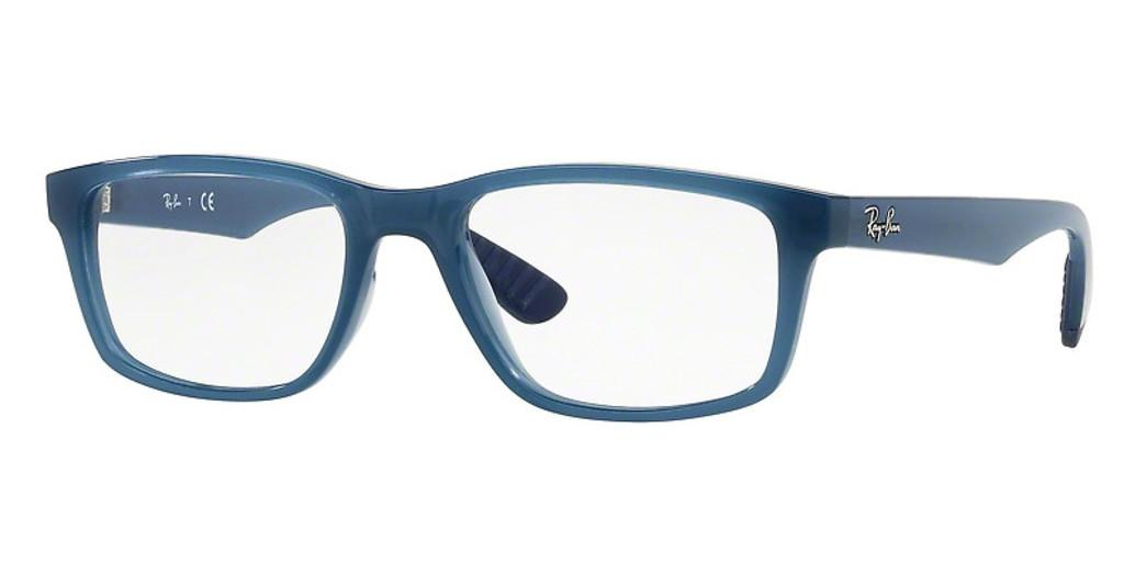 Ray-Ban   RX7063 8019 TRASPARENT LIGHT BLUE