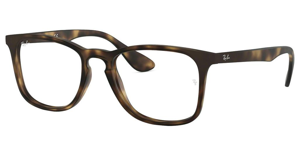 Ray-Ban   RX7074 5365 RUBBER HAVANA