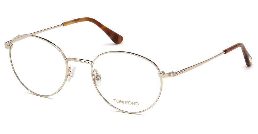 Tom Ford   FT5500 028 rosé-gold glanz