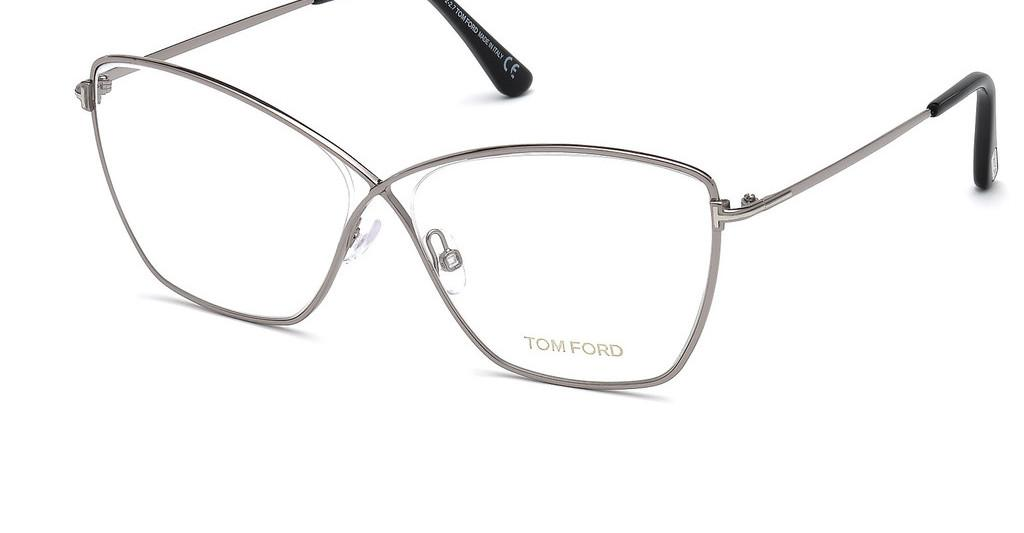Tom Ford   FT5518 014 ruthenium hell glanz