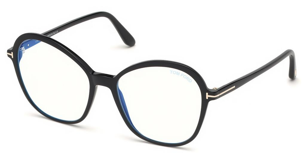 Tom Ford   FT5577-B 001 schwarz glanz