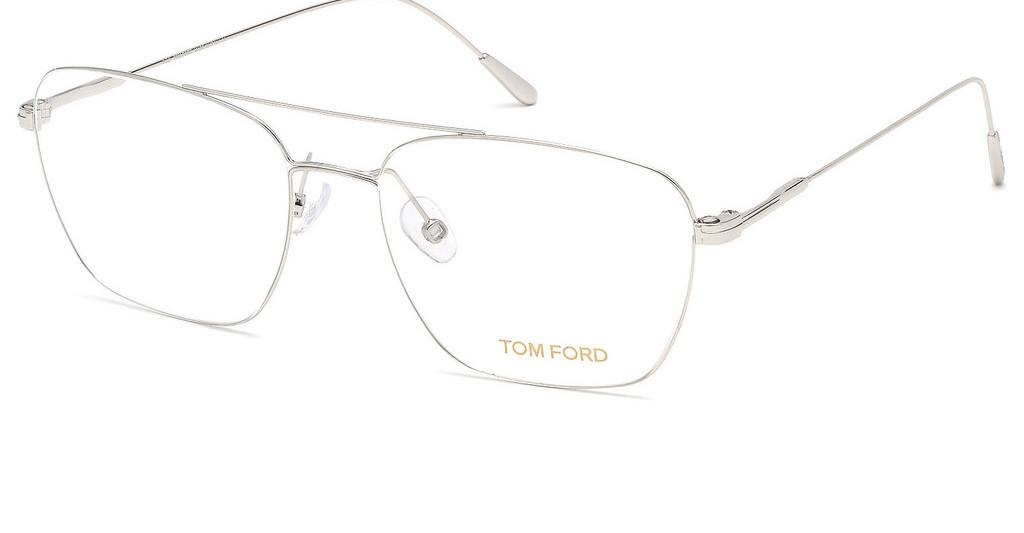 Tom Ford   FT5604 018 rhodium glanz