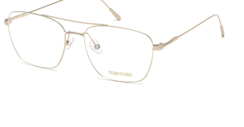 Tom Ford   FT5604 028 rosé-gold glanz