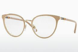 Lunettes design Burberry BE1324 1266 - Blanches, Or