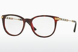 Lunettes design Burberry BE2255Q 3657 - Rouges, Brunes, Havanna
