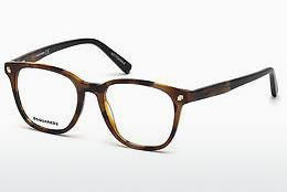 Lunettes design Dsquared DQ5228 053 - Havanna, Yellow, Blond, Brown