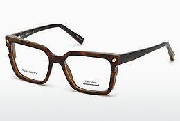 Lunettes design Dsquared DQ5247 053 - Havanna, Yellow, Blond, Brown