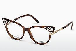 Lunettes design Dsquared DQ5256 053 - Havanna, Yellow, Blond, Brown