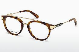 Lunettes design Dsquared DQ5261 053 - Havanna, Yellow, Blond, Brown