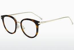 Lunettes design Fendi FF 0166 V4Z - Or, Brunes, Havanna