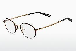 Lunettes design Flexon INFLUENCE 214 - Brunes, Havanna