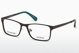 Lunettes design Guess GU1940 049 - Brunes, Dark, Matt