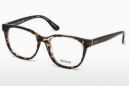 Lunettes design Guess GU2648 048 - Brunes, Dark, Shiny